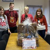 LAST CHANCE TO WIN A CHRISTMAS HAMPER